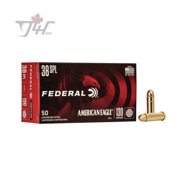 Fed. American Eagle .38Special 130gr. FMJ 50rds