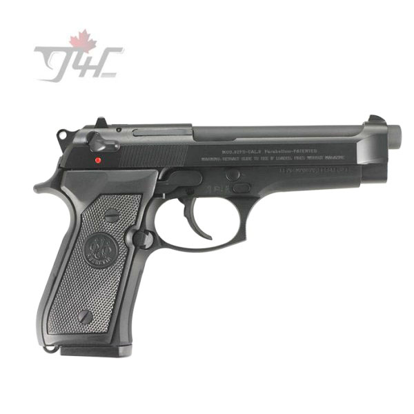 "Beretta 92FS 9mm 4.9"" BRL Black"
