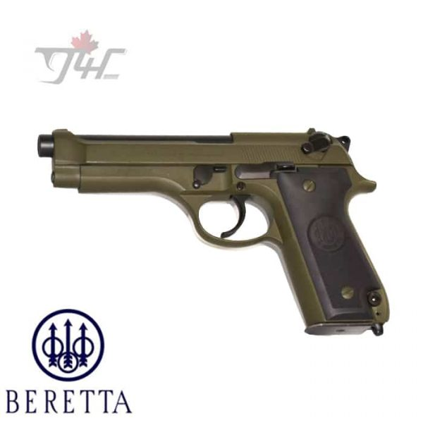 Beretta-92S-Italian-Police-Surplus-9mm-4.9-BRL-OD-Green