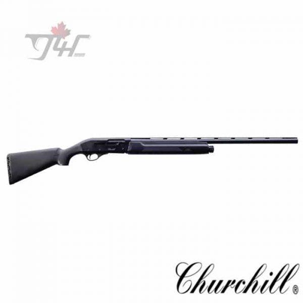 Churchill-Semi-Auto-Shotgun-Synthetic-12Gauge-28-inch-Black