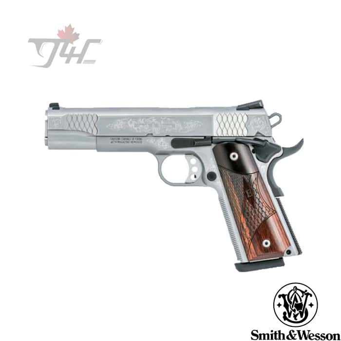 Smith-Wesson-1911-Engraved