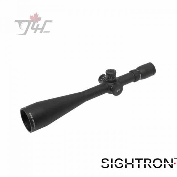 Sightron SIII 10-50x60mm 0.25MOA Adj. MOA-2 Reticle 30mm Tube