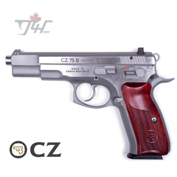 "CZ 75B New Edition 9mm 4.5"" BRL STS"