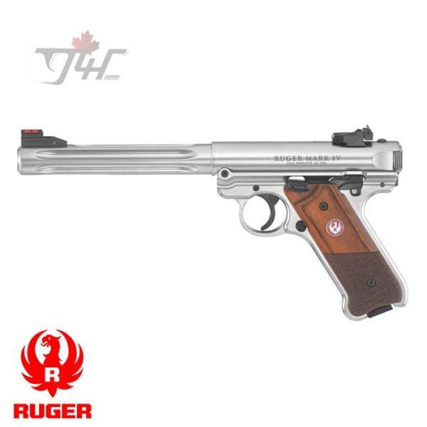 RUGER-MKIV-COMP-PISTOL-.22LR-6.8-BULL-BARREL-1