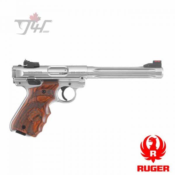 RUGER-MKIV-HUNTER-PISTOL-.22LR-6.88-BULL-BARREL-1