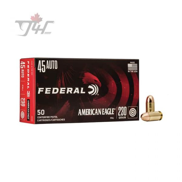 Fed. American Eagle .45Auto 230gr. FMJ 50rds