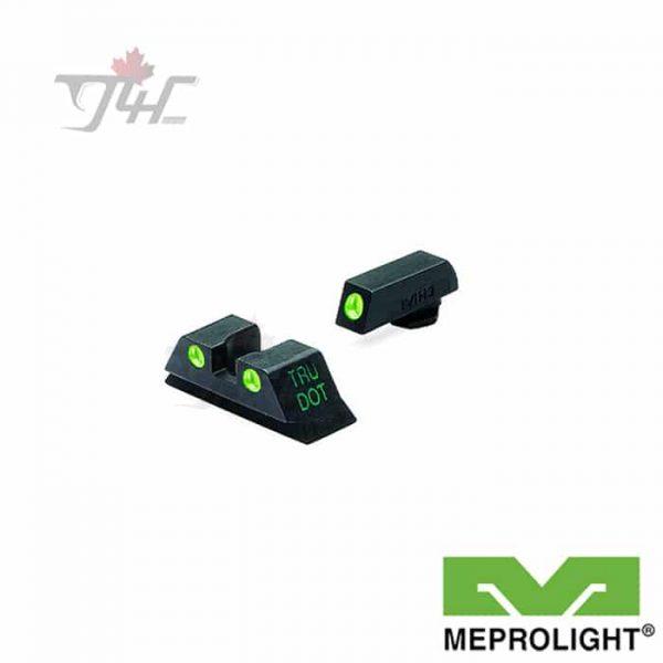 MEPROLIGHT-GLOCK-9-357SIG-40-45GAP-G-G-FIXED-SET-TRU-DOT-NIG