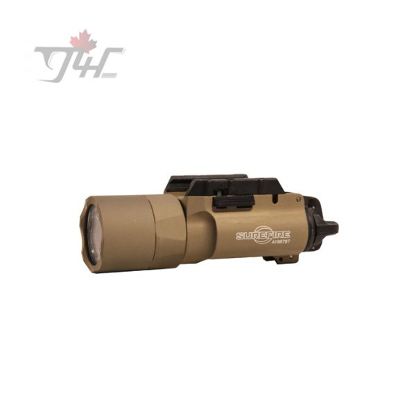 Surefire X300U-A 600Lumens LED Handgun Light with Rail-Lock® Mounting System Tan