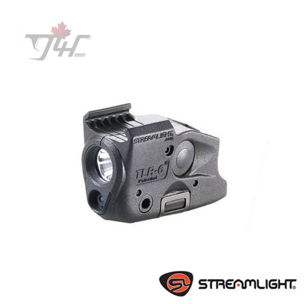 Streamlight TLR-6 Trigger Guard Light 100Lumens with Red Laser BLK (Glock)