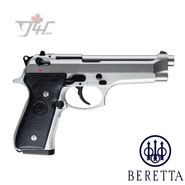 "Beretta 92FS Inox 9mm 4.9"" BRL Stainless"