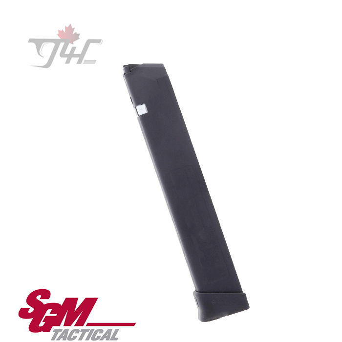 SGM Tactical Glock 9mm Magazine Black