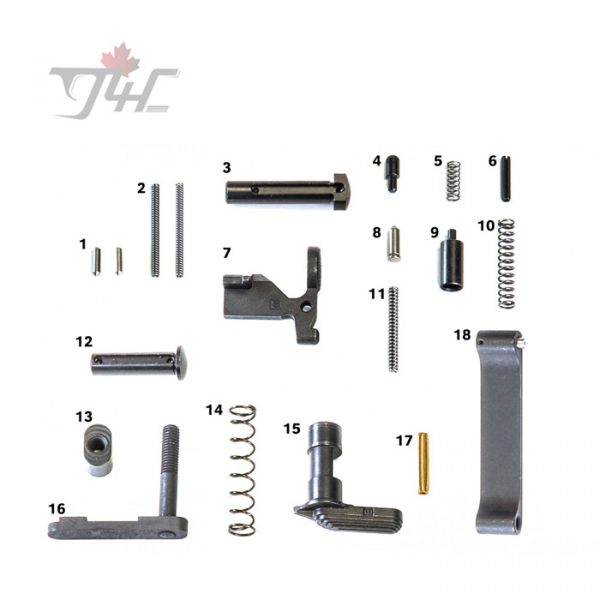Geissele AR15/M4 Mil-Spec Lower Parts Kit