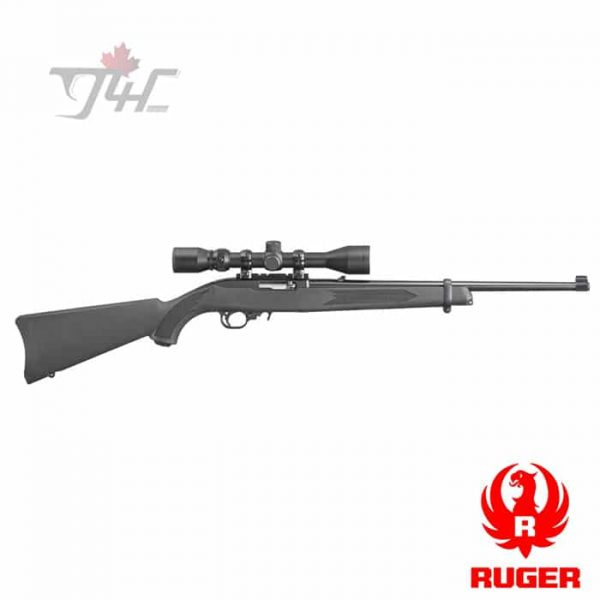 Ruger-10-22-Carbine-with-Weaver-Scope-1