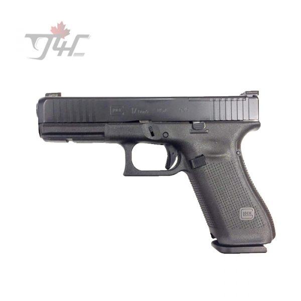 Glock 17 Gen5 MOS w Ameriglo Bold Night Sights usa