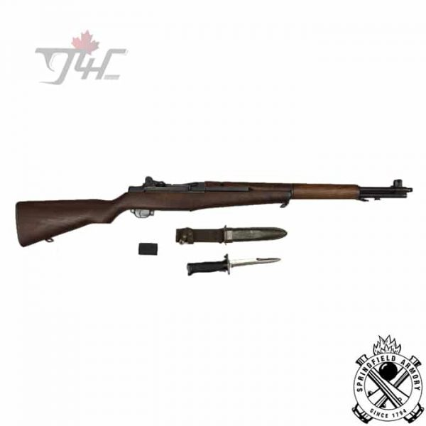 Springfield-M1-Garand-Surplus-with-Bayonet