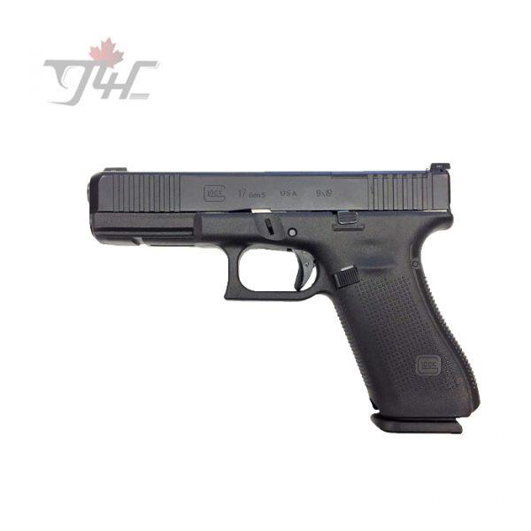 Glock 17 Gen5 MOS w Night Sights 9mm