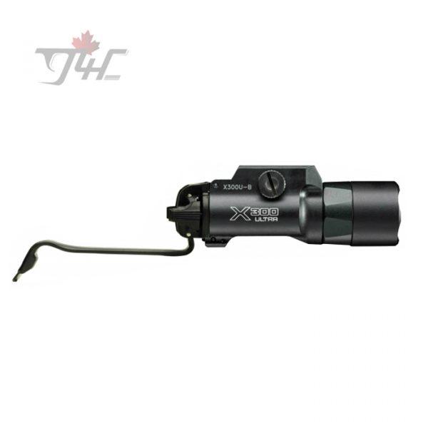 Surefire X300U-B Ultra 600Lumens with DG-11 Grip Switch Black