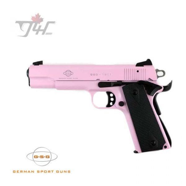 """GSG 1911 .22LR 5"""" BRL Pink"""