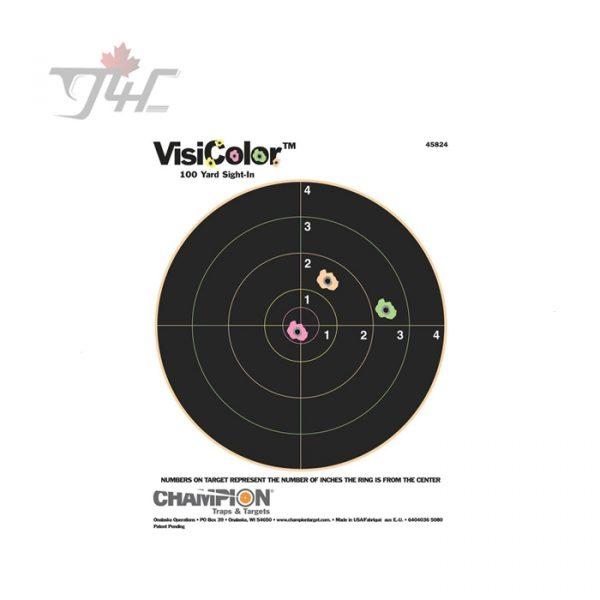 Champion VisiColor 8'' Bullseye Splatter Target 10pk