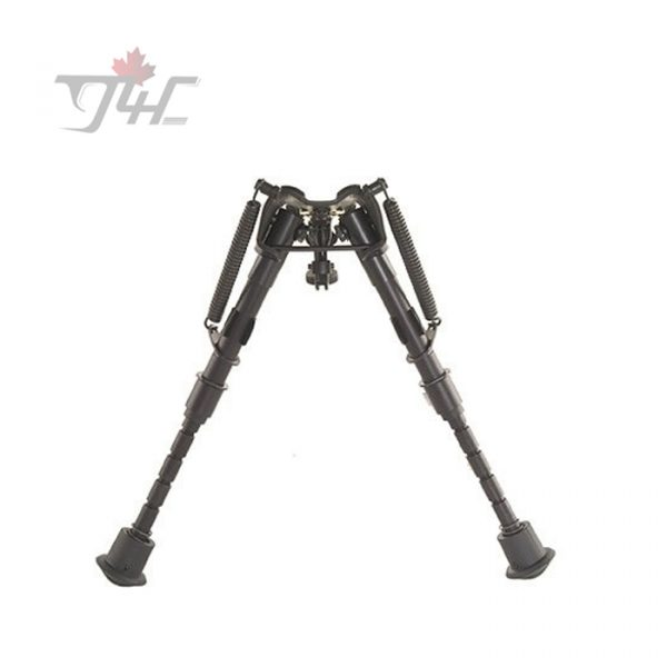 Harris Series 1A2 Bench Rest Bipod 6'' - 9'' w/ Leg Notch & Swivel Stud Mount