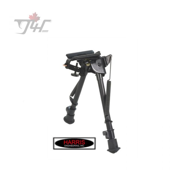 Harris Series S Pivot Bipod 9'' - 13'' w/ Leg Notch & Swivel Stud Mount