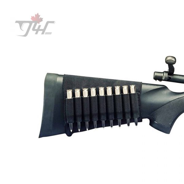 Hunters Specialties Buttstock Rifle Ammo Holder 9 Cartridges