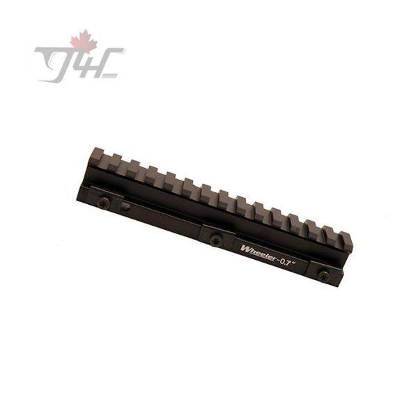Wheeler Engineering 0.7'' Picatinny Rail Riser