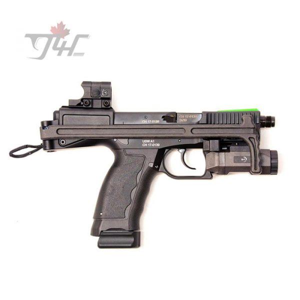 "B&T USW-A1 C/W Aimpoint Nano 9mm 4.17"" BRL Black"
