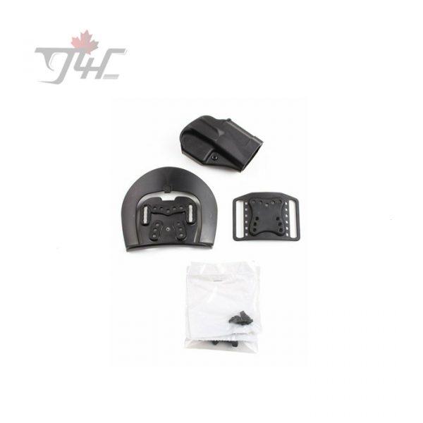 BlackHawk! Sportster Standard CQC Concealment Holster for Glock 17/22/31 Right Hand Black Polymer