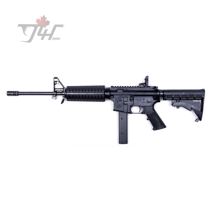 """Colt AR-15 Carbine 9mm 16"""" BRL Black"""