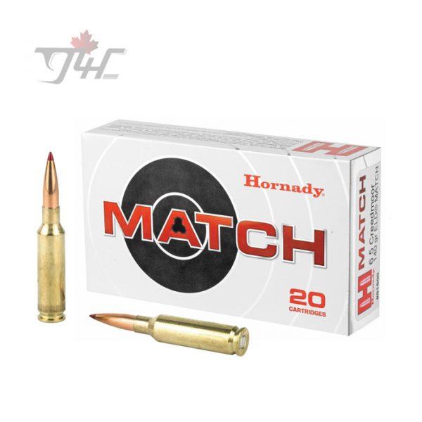 Hornady 6.5Creedmoor 140gr ELD Match Polymer Tipped 20rds