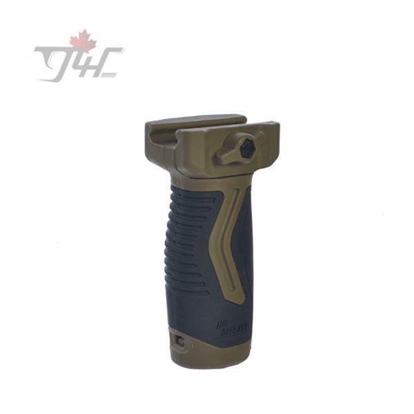IMI Defense OVG Overmolding Vertical Grip FDE