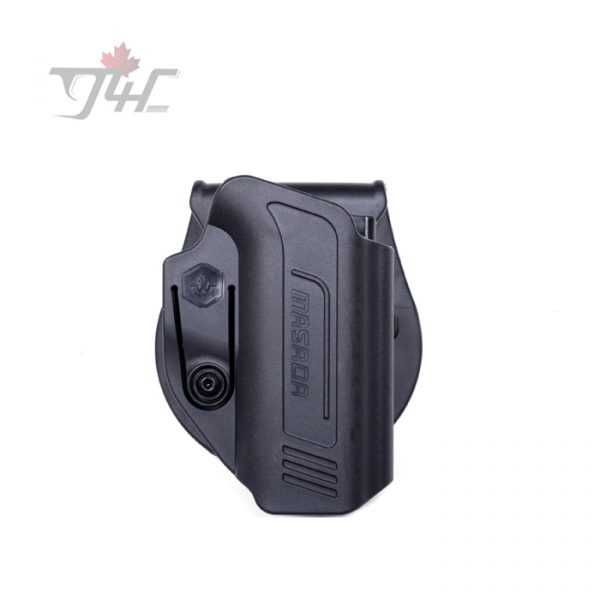 IWI Masada Paddle Holster Level 1 Right Hand BLK