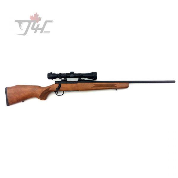 "Mossberg 4X4 w/Trophy Hunter 3-9x40 Scope 30-06SPRG 24"" BRL Wood"