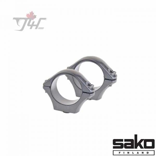 Sako-Optillock-Rings-30mm-Low-Stainless
