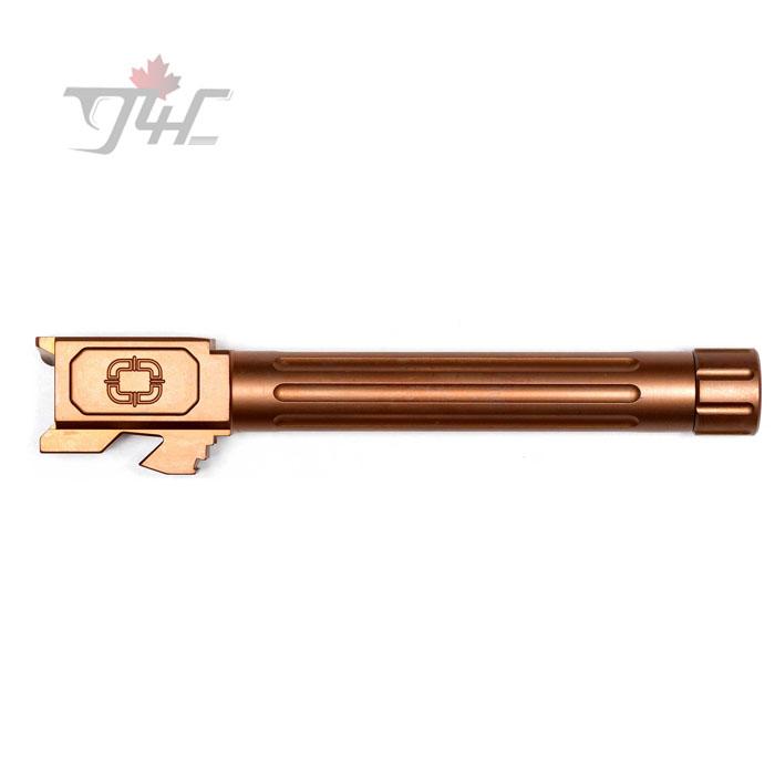 Shadow Systems Glock 17 Gen3/4 Fluted Bronze TiCN Coated Threaded Match Barrel