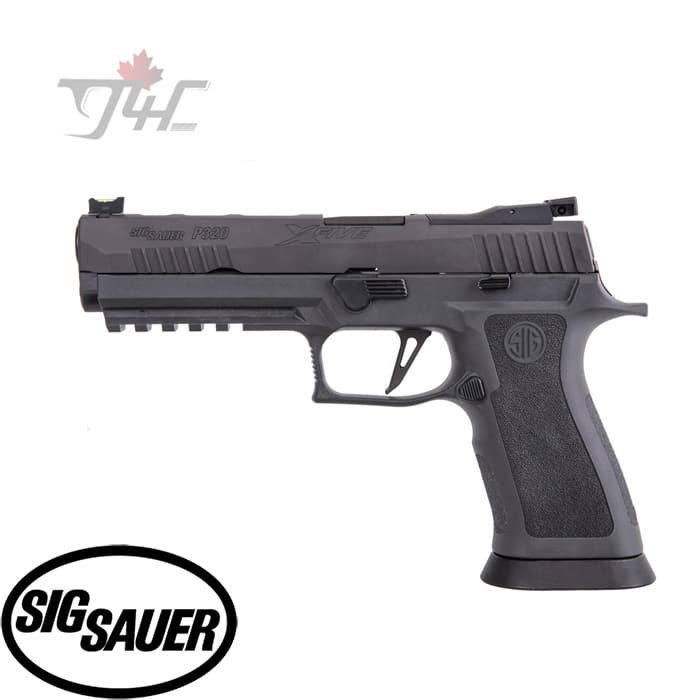 "Sig Sauer P320 X-Five Legion 9mm 5"" BRL Black"