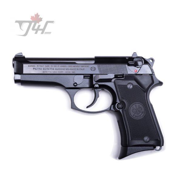 """Beretta 92FS Compact 9mm 4.25"""" BRL Black"""