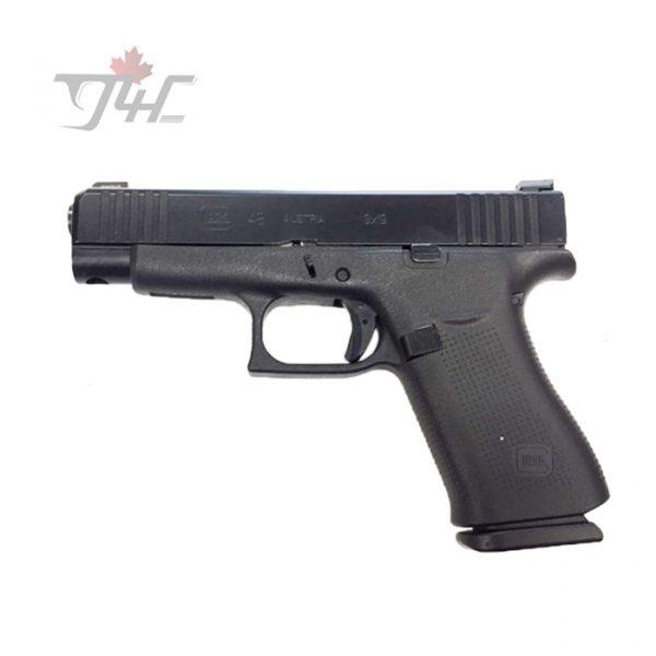 "Glock 48 Ameriglo Bold Sights 9mm 4.17"" BRL Black"