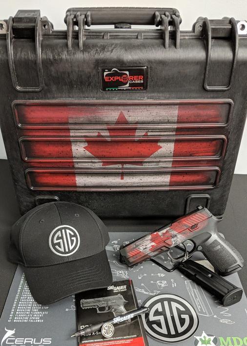 Sig Sauer P320 Canadian Edition
