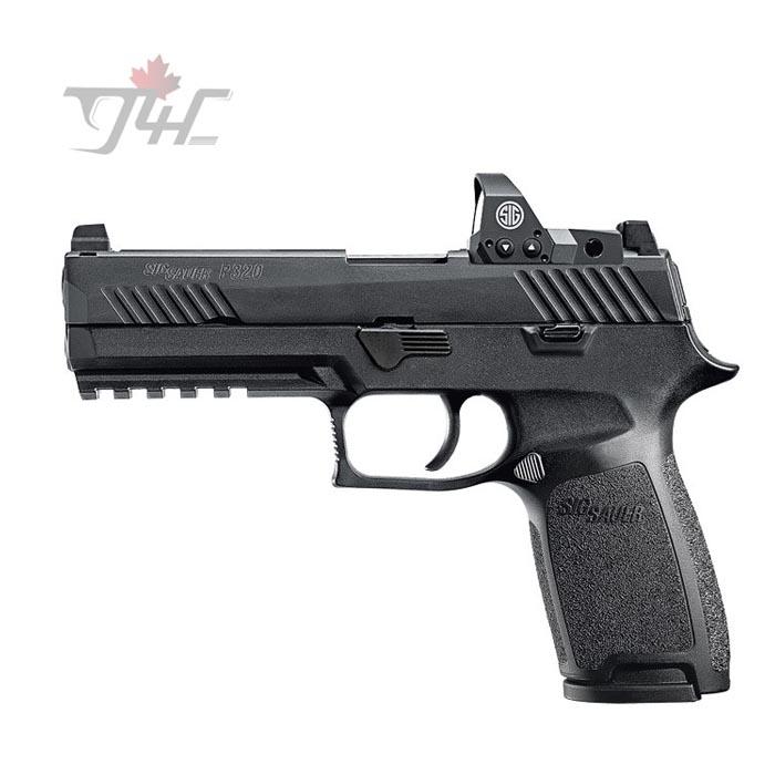 """Sig Sauer P320 RX w/ Romeo1 Reflex Sight 9mm 4.7"""" BRL Black"""