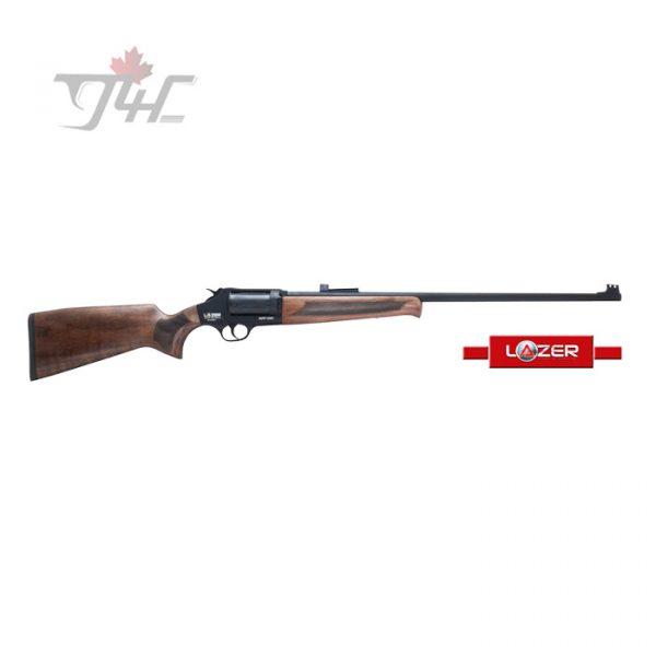 """Lazer Arms XR410 Revolver Action 410Gauge 24"""" BRL Black/Wood"""
