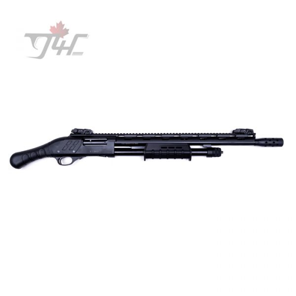 "ATA Etro ET-09 Tactical w/Rail and Sights 12Gauge 14"" Black"
