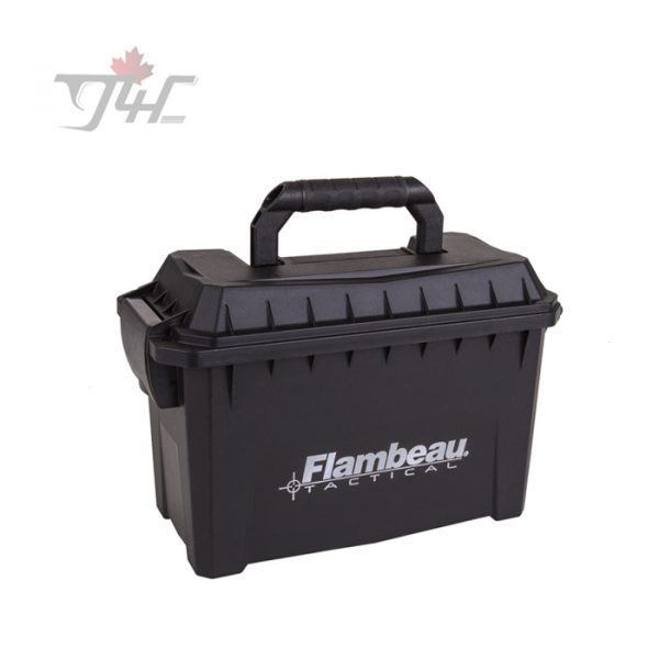 Flambeau Compact Tactical Ammo Can Black