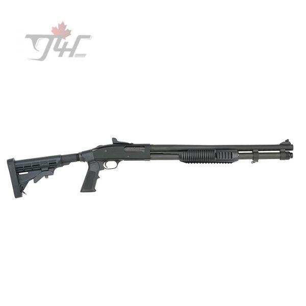 """Mossberg 590A1 Tactical Tri-Rail Adjustable 12Gauge 20"""" BRL Black"""