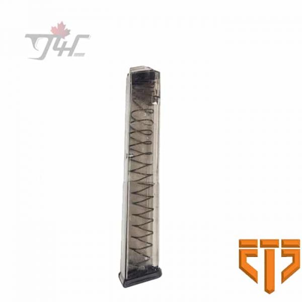 Elite Tactical Systems Group .40S&W 10/30rds Magazine For Glock