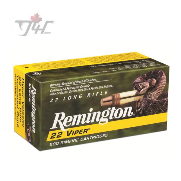 Remington Viper Hyper Velocity .22LR 36gr. 500rds