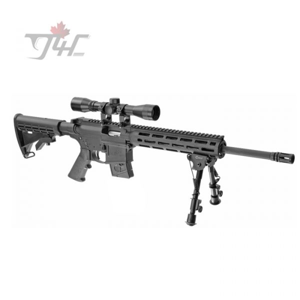 "Smith & Wesson M&P15-22 Sport .22LR 16"" w/Scope & Bipod Combo"