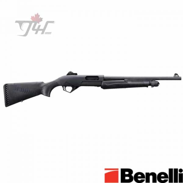 Benelli-Super-Nova-Tactical-Synthetic-ComforTech-12Gauge-18-inch-Black