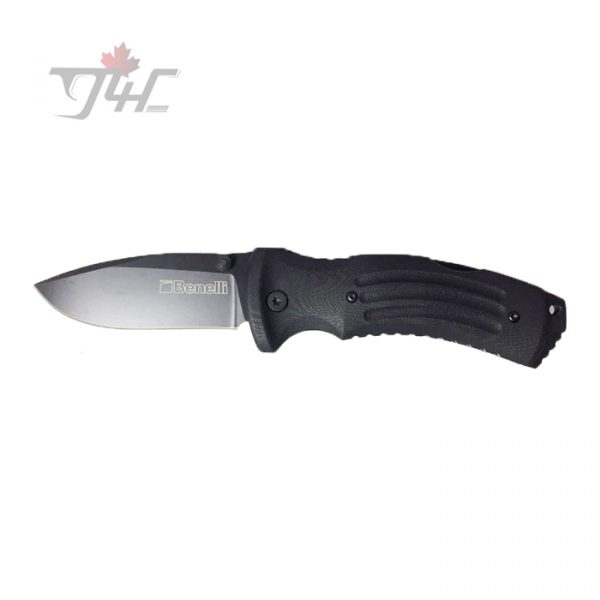 BlackFox BF-704 Folding Knife For Benelli G10 Black